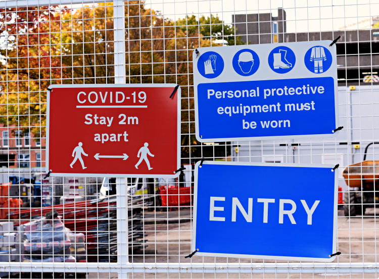 Subcontractor Sign-In and COVID Assessments